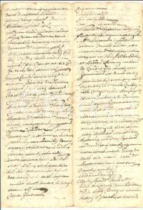 1696 BORZONASCA VALLE STURLA  contratto ZANONI/ VINETTI