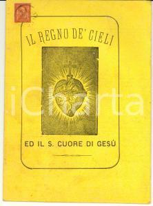 1887 Don Giovanni ROSSI Il Regno de' Cieli ed il Sacro Cuore di Gesù