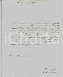 1861 BETTONA (PG) Emilia GUERRIERI presenta il fidanzato alla madre