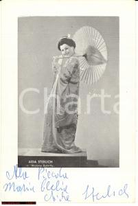 Sterlich Aida - Cantante lirica *Foto e autografo