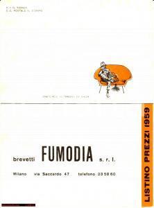 1959 MILANO FUMODIA depuratori fumo gas nocivi listino