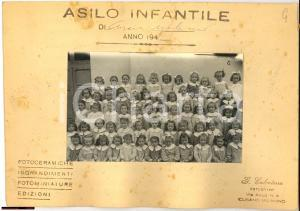1940 CUSANO MILANINO Foto gruppo asilo infantile