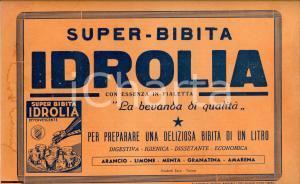 1940 ca Super Bibita IDROLIA Pubblicità vintage (35x25)