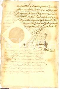 1702 TORINO Prospero CALCATERRA pro marchese SFRONDATI