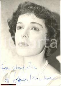 1957 ANNA PROCLEMER Fotografia con dedica autografa