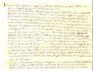 1820 ca STORIA Appunti sul pensiero di MONTESQUIEU *Manoscritto