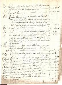 1798 COGOZZO (BS) Funerale di LELIA PICCINELLI manoscr.