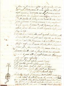 1713 COGOZZO (BS) Costituzione dote CATTARINA PICINELLI