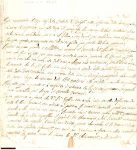 1790 SAREZZO Diatriba eredit. tra le sorelle PICCINELLI