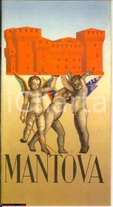 1956 MANTOVA guida turistica - testo di Giuseppe Amadei