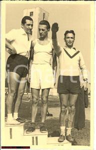 1933 TORINO stadio MUSSOLINI saluto romano FP NV