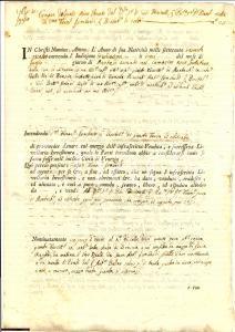 1764 MONTICHIARI (BS) LOMBARDI vende 'un poco d'horto'
