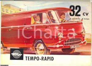 1957 TEMPO-WERK pubblicità furgoncino VIKING RAPID