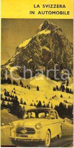 1956 ZURICH BRITISH PETROLEUM La Svizzera in automobile