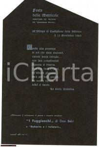 1965 CASTIGLIONE DELLE STIVIERE Festa Collegio FERRARI