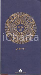 1982 ST. MORITZ (CH) Menù illustrato del CRYSTAL HOTEL