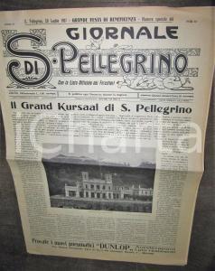 1907 GIORNALE DI SAN PELLEGRINO (BG) Importante numero