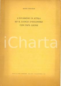1963 VERONA Mario FRANZOSI L'invasione di Attila