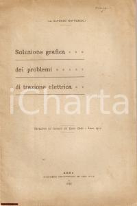 1912 Alfonso MAFFEZZOLI Problemi di trazione elettrica