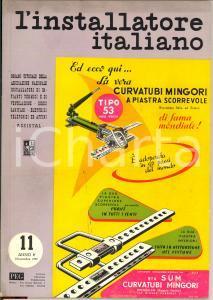 1957 MILANO L'Installatore italiano n° 11  - rivista