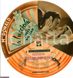 1937 Jeanette MACDONALD La lucciola Volantino cinema