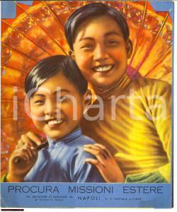 1953 NAPOLI Calendario missioni Sacerdoti del S. CUORE