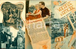 1938 Vacanze d'amore Ginger ROGERS volantino FIORENZI