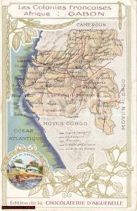 1930 circa Chocolaterie d'AIGUEBELLE Colonie GABON
