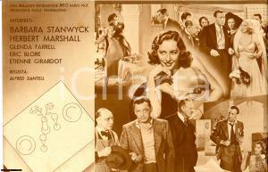 1937 Alfred SANTELL Pronto per due volantino film