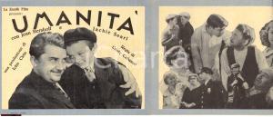 1932 Cristy CABANNE Umanità Volantino film