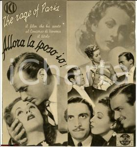 1938 Henry KOSTER Allora la sposo io!  - cinema