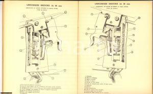 1962 LECCE Scuola Allievi Ufficiali Complemento - Sinossi di armi - Tavole
