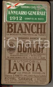1912 TOURING CLUB ITALIANO Annuario generale
