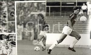 1980 AC MILAN Lotto 4 foto autentiche campioni anni 80