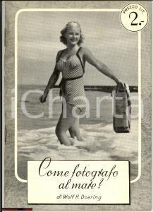 1940 Wolf DOERING Come fotografo il mare? Libretto AGFA