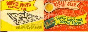 1961 MILANO Catalogo brodo STAR decennale Illustrato