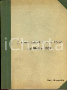 1940 Sala Giuseppina CARLO FARINI dal 1848 al 1859