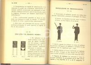 1963 FFSS Istruzioni esercizio passaggi a livello