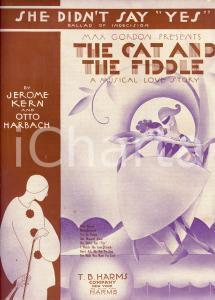1931 O. HARBACH - J. KERN She didn't say