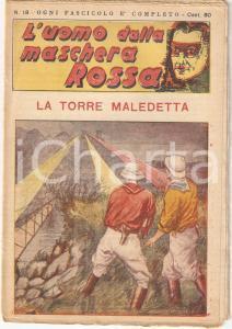 1936 L'UOMO DALLA MASCHERA ROSSA La torre maledetta *Rivista n°18