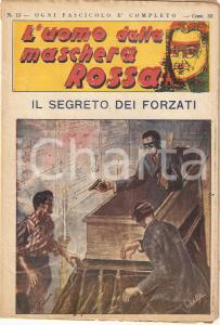 1936 L'UOMO DALLA MASCHERA ROSSA Il segreto dei forzati *Rivista n°13