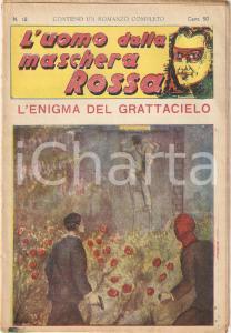 1936 L'UOMO DALLA MASCHERA ROSSA L'enigma del grattacielo *Rivista n°12