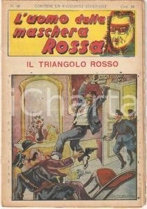 1936 L'UOMO DALLA MASCHERA ROSSA Il triangolo rosso *Rivista n°10