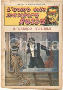 1936 L'UOMO DALLA MASCHERA ROSSA Il nemico invisibile *Rivista n°8