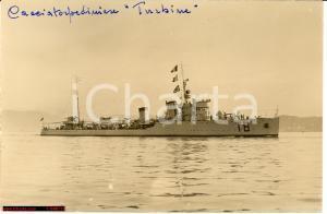 1935 WW2 Regio Cacciatorpediniere Turbine, nave Marina