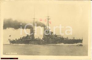 1917 WW1 Nave da battaglia Andrea Doria, corazzata