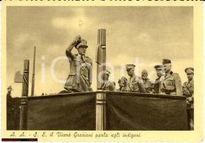 1939 Addis Abeba, Vicerè Graziani parla a indigeni