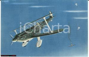 1935 aereo Caproni 165, Conflenti, illustr. Gianpaolo