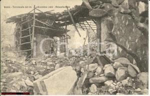 1908 Palmi (RC) immagine di devastazione terremoto