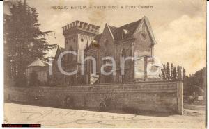 1915 Reggio Emilia Villino Sidoli e corso *Animata